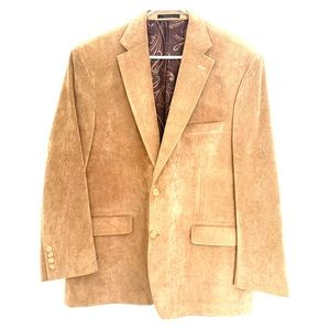 LAUREN Ralph Lauren- tan, corduroy blazer